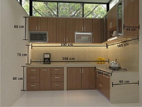 Contoh 1 Misalkan Dapur Sudah Ada Cor Coran Table Top Menggunakan Finishing Hpl Dengan Biaya Per Meter Lari Rp 2 Juta